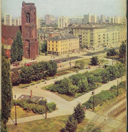 pl. narutowicza lata 70-te