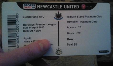 bilet Sunderland