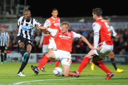 Morecambe-v-Newcastle-United